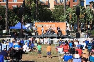 playa vista concert park