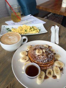 Cafe Solar Pumpkin Pancakes 90045
