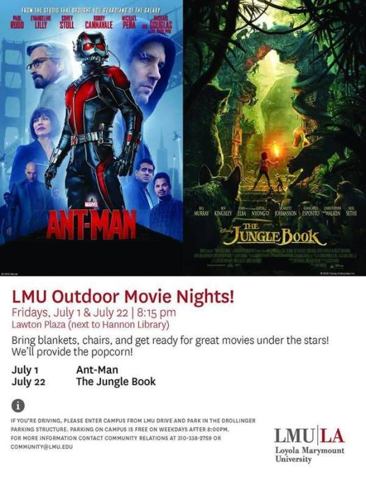 lmu movie night ant-man
