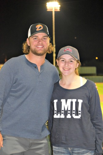 Living90045's LMU reporter Catherine Galanti interviews LMU baseball grad Cassidy Brown about his first year playing professional baseball.