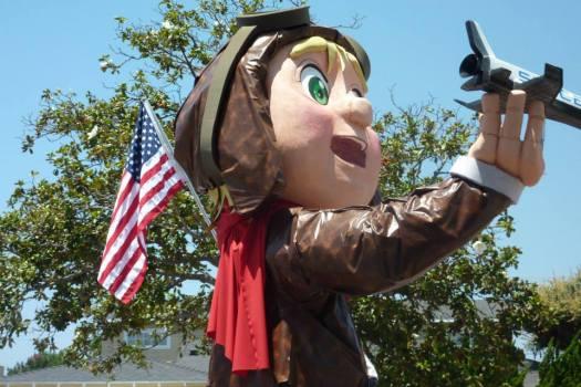 westchester parade float