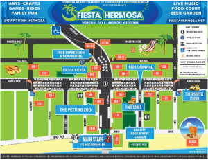 Event Map Fiesta Hermosa